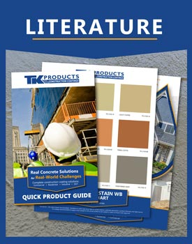 Literature Color Charts - Sales Sheets TK Construction Coating Products