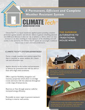 Climate Tech Brochure TK Products Information PDF