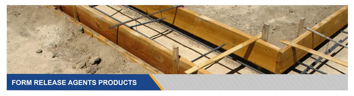 Concrete Forming Release Agent Products