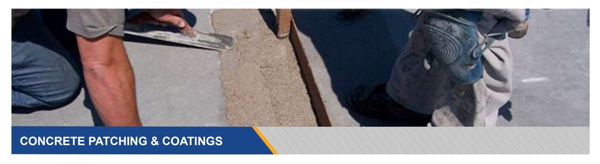Concrete Patching and Concrete Coating Products