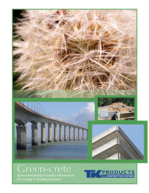 Green-crete Brochure LEED Info From TK Products