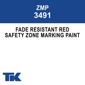 m-3491 fade resistant red zone marking paint