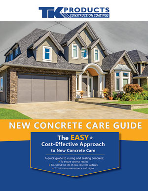 New Concrete Care Guide for TK Products