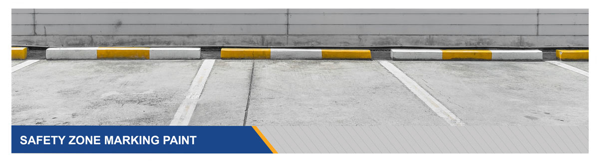 Safety Zone Marking Paint Products for DOT Commercial High Traffic Areas