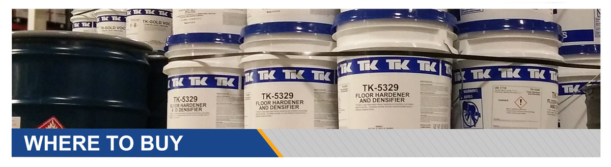 Where to Buy TK Products