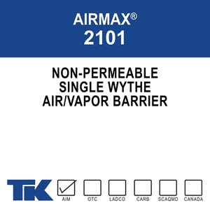 AIRMAX 2101 is a single-component, solvent-based,
