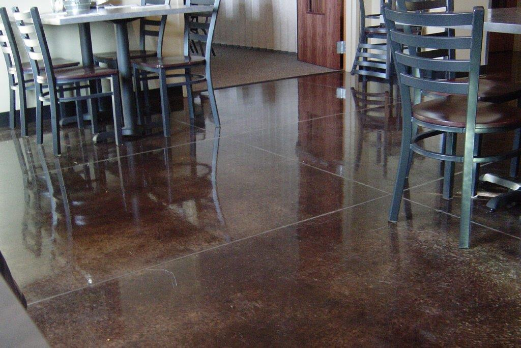 Concrete Flooring Decorative Finishes Using TK Products 11