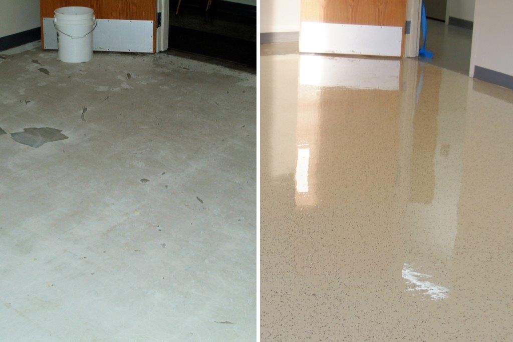 Concrete Flooring Decorative Finishes Using TK Products 5