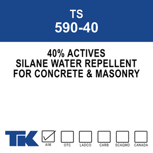 TS 590-40 A 40% active, one-component, deep penetrating silane water repellent