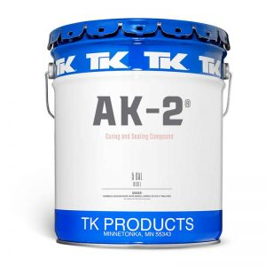 TK AK2 Concrete Cure and Seal for Residential Applications