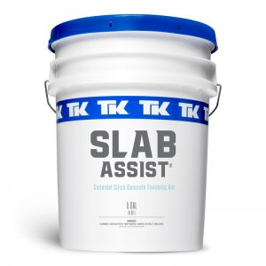 1 and 5 Gallon Options: TK-Slab Assist Concentrate Concrete Finishing Aid